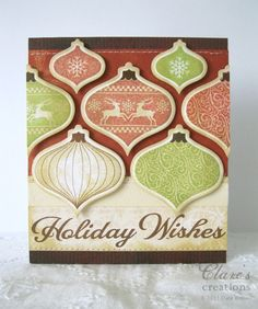 Waltzingmouse Stamps Holiday Ornaments stamp set - Yahoo Image Search Results