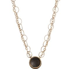Sienna - N242GO<br >14K gold fill, oxidized sterling silver