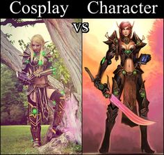 Blood elf paladin from World of Warcraft Cosplayer: Athariel Cosplay Photo by: Made by Dobrochna
