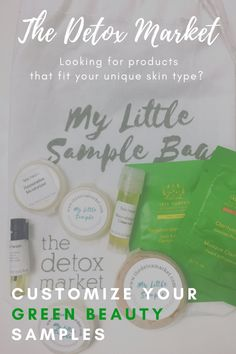 The Detox Market Samples Program Review #greenbeauty #skincare #greenbeautyreviews #tataharper