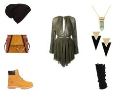Style 8 by isablund on Polyvore featuring Jay Ahr, Timberland, Chloé, Yves Saint Laurent and BaubleBar