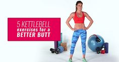 Try this high-intensity kettlebell workout to tone and tighten your glutes. This workout will sculpt your body and get you into shape. You'll feel the burn with these kettlebell exercises from this top Austrailian trainer. Do this  fat-burning workout at-home or at the gym.