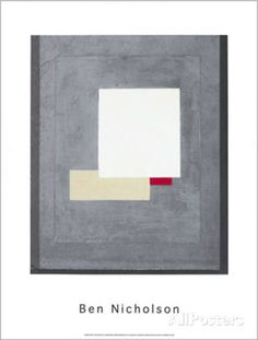 Composition, c.1935-38 Serigraph by Ben Nicholson at AllPosters.com