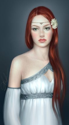 "By Adelanta. The girl who would become Empress Naiella the Cruel was often mocked for her Arquish red hair, but she would become one of the most terrifying figures of the Beryl era. Known for her dramatic and unusual torture methods, Naiella ruled the empire with an iron fist. However, the country was quite prosperous under Naiella, leaving historians to wonder just how ""cruel"" her reign was."