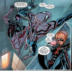 The three Spider-Clones in Scarlet Spiders #2