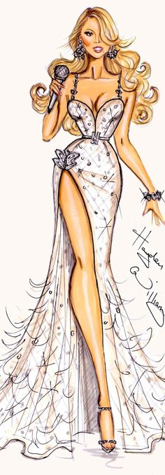 Fashion design sketches dresses drawing hayden williams 39 Ideas for 2019 Glamour Fashion, Mode Glamour, Fashion Art, Girl Fashion, Fashion Dresses, Classy Fashion, Fashion Shoes, Paper Fashion, Fashion Trends