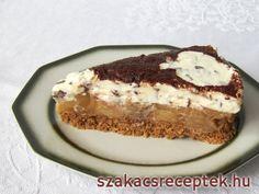 Sütés nélküli almás-mascarpone torta • Recept | szakacsreceptek.hu