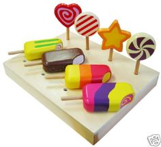 play lollies and popsicles