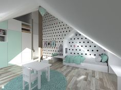 Pokój dziewczynki - zdjęcie od Kadoka Architekci - Pokój dziecka - Styl…