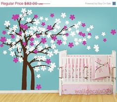 Kids Wall Decal Wall Sticker Trailing Cherry by walldecals001