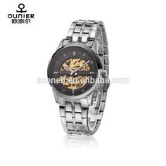 ae3be7039d2 Luxury stainless steel watch Japan movt mechanical watch automatic