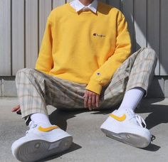 Indie Outfits, Retro Outfits, Vintage Outfits, Fashion Outfits, Urban Outfits, Stylish Mens Outfits, Cute Casual Outfits, Outfits For Boys, Outfit Stile
