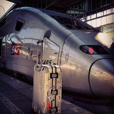 #TGV riding the french. #rimowa