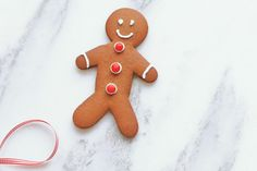 Festive Christmas Cookies: Gingerbread Men