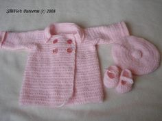 (4) Name: 'Crocheting : Baby Jacket Crochet Pattern #87
