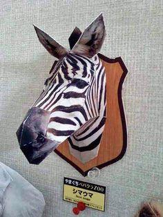 動物のペーパークラフト papercraft animal