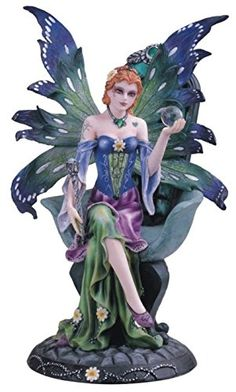 Fairy With Green And Blue Wings Collectible Figurine Decoration Statue GSC http://www.amazon.com/dp/B0052GKHVE/ref=cm_sw_r_pi_dp_WVjxwb182DPQK