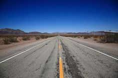 """California Route 66 in the Mojave Desert. """"The Fine Art Photography of Frank Romeo."""""""