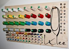 Franziska Klee: Garnrollenhalter selbst gemacht!