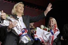 Pesquisas mostram que família Le Pen perderia 2º turno na França. (foto: AP)