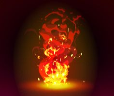 2D Animation Fire FX by IvanBoyko