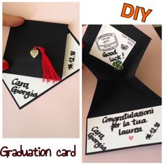 DIY Graduation Card