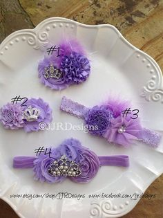 Sofia Headband- Sofia the First Inspired Headpiece- Sofia The First Headband