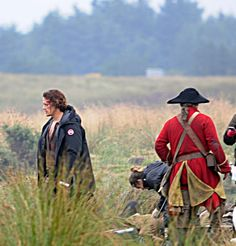 New photos of Sam Heughan on the set of Outlander 3 ·