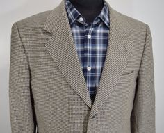 MINT CORRAGIO mens 100% SILK 3 button sport coat blazer jacket 41R 41 regular R…