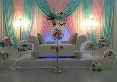 minus the bouquets/colors, only the draping of the curtains