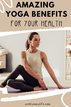 What are the Yoga Benefits For Your Health? Check these amazing tips and improve your health with yoga #yogatips Yin Yoga Sequence, Yin Yoga Poses, Restorative Yoga Poses, Prenatal Yoga, Yoga Sequences, Yin Yoga Benefits, Yoga Youtube, Morning Yoga, Yoga Quotes