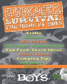 Summer Survival Series for Boys