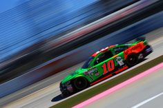 Danica Patrick on track at Martinsville Speedway during Sprint Cup series practice for the Goody's Headache Relief Shot 500, 10/30/15.