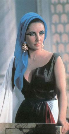 """Elizabeth Taylor en """"Cleopatra"""", 1963"""