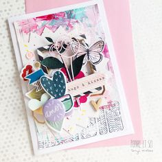 In The Scrap: Tarjeta AMOR - Por Tonyi