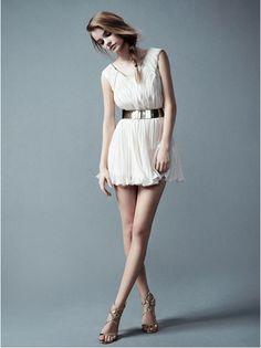 stunning grecian dress
