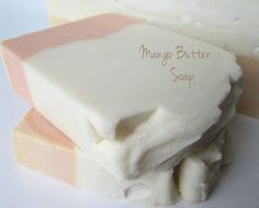 Cold Process - Mango Butter Soap w/ Recipe