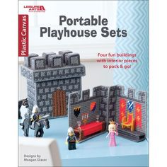 Leisure Arts-Portable Playhouse Sets. Kids can let their imaginations run free with these four cute sets! Author: Meagan Glaser. Softcover, 24 pages. Published Year: 2016. ISBN 978-1-4647- 5377-0. Imp