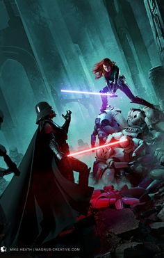 Star Wars Fan Art, Star Wars Concept Art, Mara Jade, Star Wars Sith, Clone Wars, Star Trek, Star Citizen, Images Star Wars, Star Wars Quotes