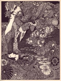 Harry Clarke, Illustrations for E. Poe Tales of Mystery and Imagination by Poe, illustrated by Harry Clarke (Ireland, 1889 - Harry Clarke, Edgar Allan Poe, Art And Illustration, Book Illustrations, Mystery, Aubrey Beardsley, The Ancient Magus, Allen Poe, James Allen