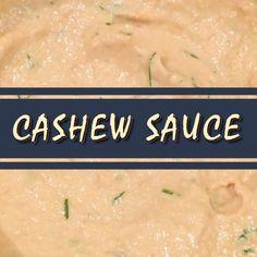 Creamy Cashew Sauce — New Vegan Heart