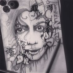 eyes, Art, pencil graphics...
