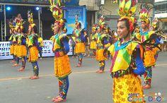 Cagayan de Oro Carnival Parade Clash of Festive Acts and Carnival Queens National High School, Festive, Queens, Acting, Carnival, Take That, Costumes, Activities, Cagayan De Oro