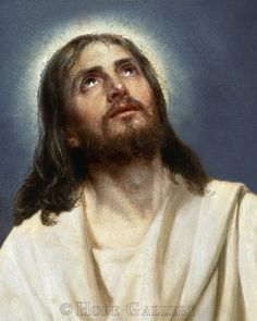 Carl Bloch  - Portrait of Christ