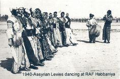 Photo Album - Assyrian RAF Levies dancing at RAF Habbaniya