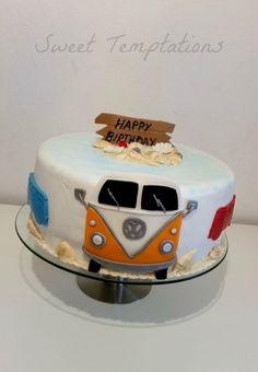 Vw Bulli Vacation Cake  on Cake Central