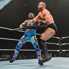 See exclusive photos of Ali, WWE Champion Kofi Kingston, Randy Orton, The Kabuki Warriors and more SmackDown LIVE Superstars in action at Magdeburg, Germany's GETEC Arena. Xavier Woods, Wwe Champions, Wwe News, Wwe Photos, Wwe Superstars, New Day, Fur Babies, Germany, Handsome