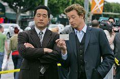 Tim Kang (Kimball Cho)  Simon Baker (Patrick Jane) - The Mentalist