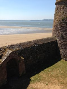 Duncannon Beach from the Fort. I hope it's recovered from the January storm. I loved it on summer evenings, watching the kiddies playing with their dads on the strand.