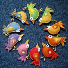 felt birds is creative inspiration for us. Get more photo about diy home decor related with by looking at photos gallery at the bottom of this page. We are want to say thanks if you like to share this post to another people via your facebook, pinterest, google plus or …